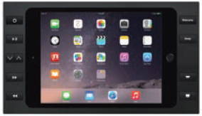 "iPort 10ボタン付サーフェイスマウントベゼル + スプリッター (対応機種: iPad Air、Air 2、Pro 9.7""、iPad 第5世代、第6世代) Surface Mount Pro 9.7"" B10 Black (製品番号: 70761)"