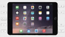 "iPort 10ボタン付サーフェイスマウントベゼル + スプリッター (対応機種: iPad Air、Air 2、Pro 9.7""、iPad 第5世代、第6世代) Surface Mount Pro 9.7"" B10 White (製品番号: 70763)"