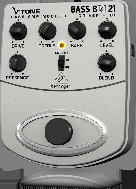 【アウトレット品】 ベリンガー Behringer BDI21 V-TONE BASS DRIVER DI ※箱なし