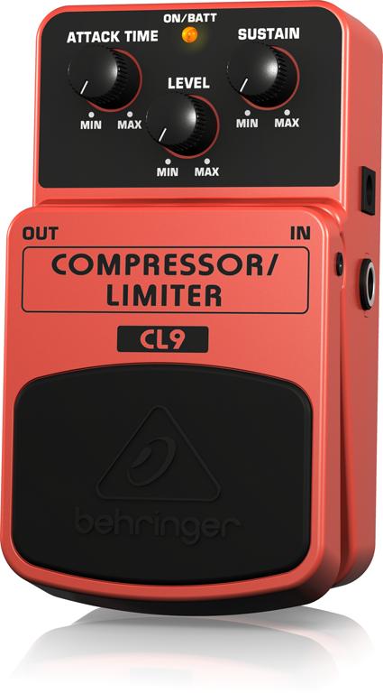 【アウトレット品】 ベリンガー Behringer CL9 COMPRESSOR/LIMITER ※デモ処分