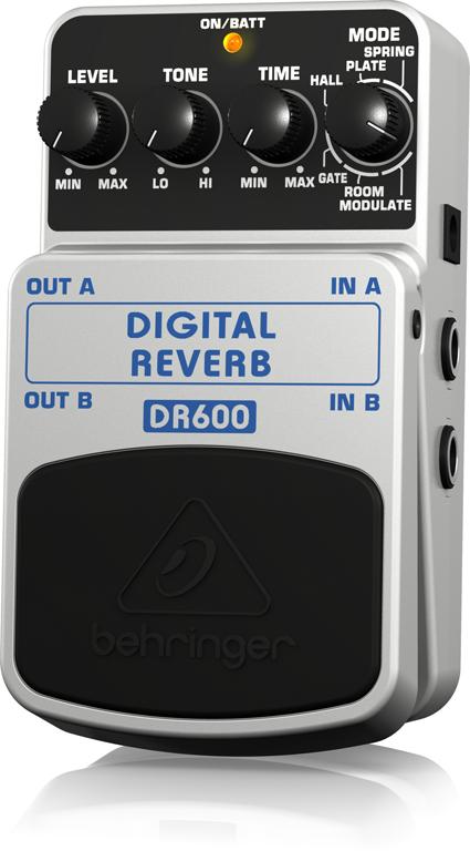【アウトレット品】 ベリンガー Behringer DR600 DIGITAL REVERB ※デモ処分