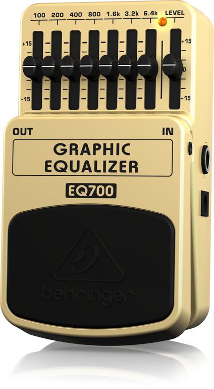 【アウトレット品】 ベリンガー Behringer EQ700 GRAPHIC EQUALIZER ※デモ処分