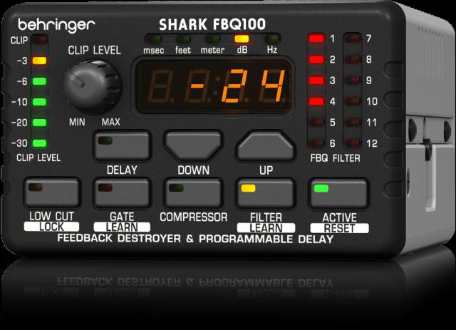 ベリンガー Behringer FBQ100 SHARK