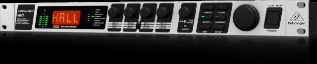 【アウトレット品】 ベリンガー Behringer FX2000 VIRTUALIZER 3D ※箱汚れ品
