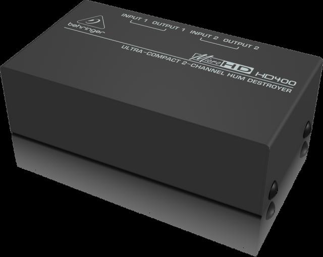 ベリンガー Behringer HD400 MICROHD