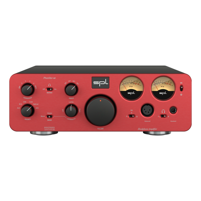 SPL Phonitor xe + DAC768 Red Model 1834-4