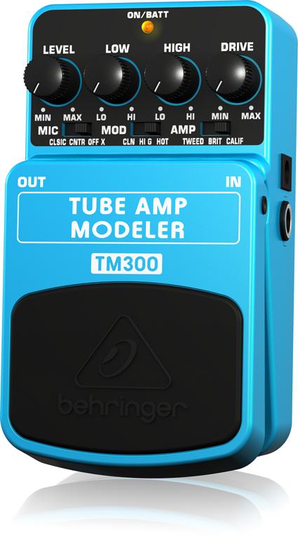 ベリンガー Behringer TM300 TUBE AMP MODELER