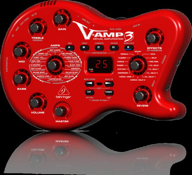 【アウトレット品】 ベリンガー Behringer V-AMP 3 ※在庫処分品
