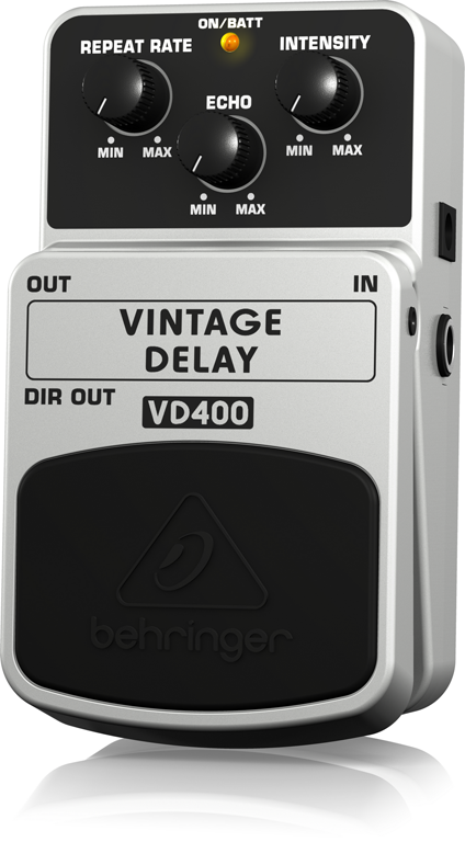 【アウトレット品】 ベリンガー Behringer VD400 VINTAGE DELAY ※デモ処分