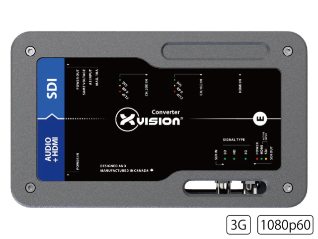 Theatrixx SDIエンベデッダー XVVAUDIO2SDIT1(HDMI Embedder to SDI)