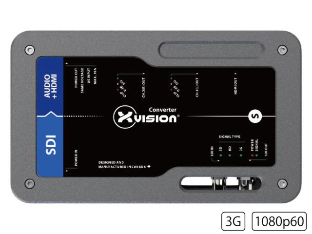 Theatrixx SDIディエンベデッダー XVVSDI2AUDIOT1(SDI De-Emdedder to HDMI)