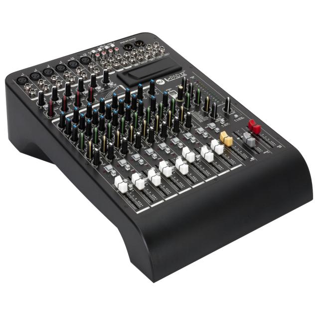 RCF 12チャンネルミキサー EQ + コンプレッサー + エフェクター機能搭載 L-PAD 12CX