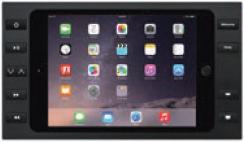 iPort 10ボタン付サーフェイスマウントベゼル + スプリッター (対応機種: iPad mini 4) Surface Mount mini 4 B10 Black (製品番号: 70758)