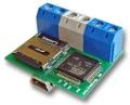 Serial Ghost Module RS-232Cデータロガーモジュール 時刻記録機能・マイクロSDカード4GB対応