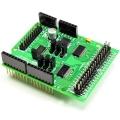 IOエキスパンダーシールド Arduino I/O増設 デジタル28点 アナログ16点
