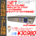 防犯カメラ・録画ハイブリッド型レコーダー|AHD・CVI・TVI・アナログCVBS(8CH)|IPネットワークカメラ|ES-XVR708S