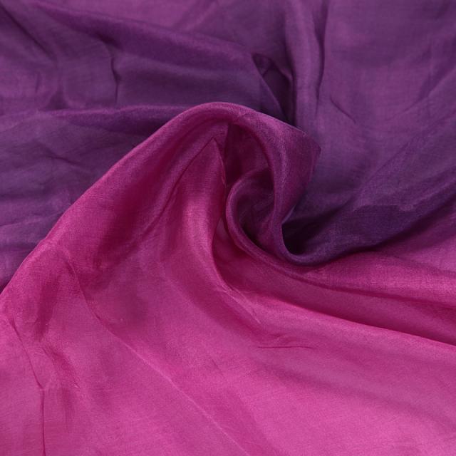 高級シルクベールR5-8サイズ236cm*110cm(パープル・ピンク)【ネコポス便送料無料】