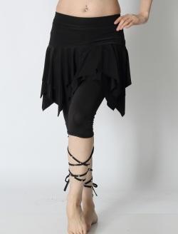 オーバースカートSK13裾カット(6549)(black)【ネコポス便送料無料】