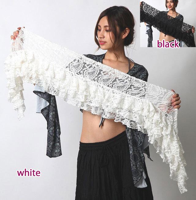 ヒップスカーフA158ペイズリーフリル(2 colors)【ネコポス便送料無料】