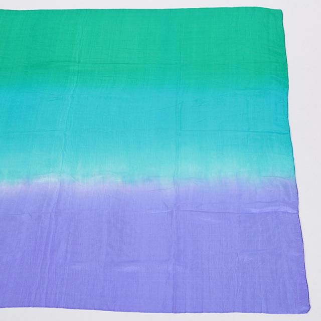 高級シルクベールR5-2サイズ236cm*110cm(3色:緑、水色、青紫)【ネコポス便送料無料】