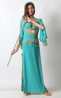 バラディドレスBAL12-13エジプト製☆アサヤで踊るときに最適(lightbllue)【宅配便送料無料】