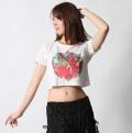 チョリC233半袖プリントTシャツ(flamingo)【ネコポス便送料無料】