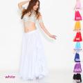ベリーダンススカートD29サイドフリル(9 colors)【宅配便送料無料】