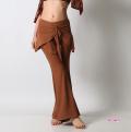 レッスンパンツE84ラウンドスカート付(brown)【ネコポス便送料無料】