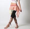 オーバースカートSK52重ねレース(pink*ivory)【ネコポス便送料無料】