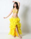 ベリーダンスコスチュームCH-COS-A23-31(yellow)【宅配便送料無料】