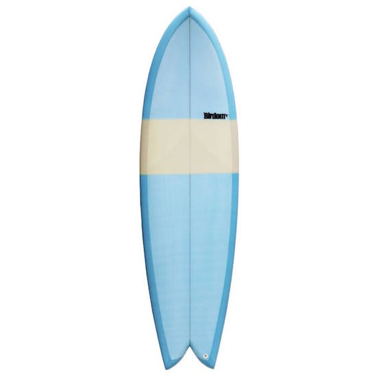 【BIRDOM SURFBOARDS  THE FISH 6'8】サーフボード