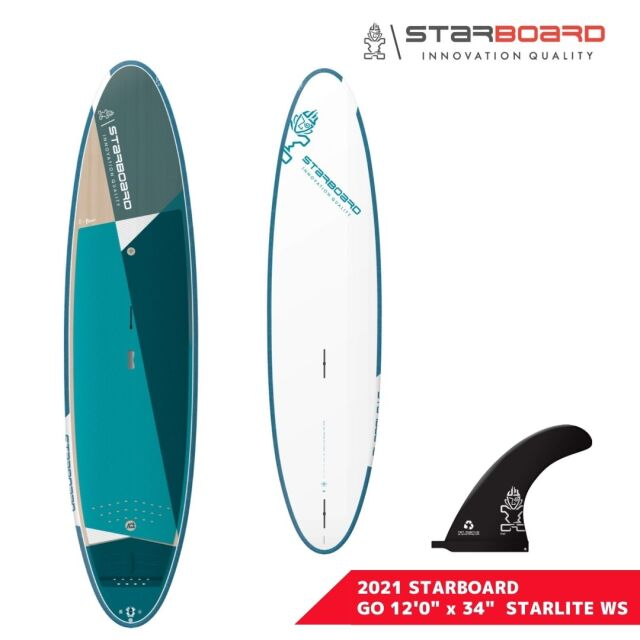 """【STARBOARD スターボード】 2021 SUP GO STARLITE WS 12'0"""" x 34"""" サップ ゴー スターライト"""