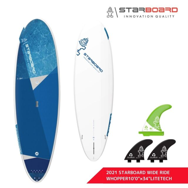 """【STARBOARD スターボード 】 2021 SUP WIDERIDE WHOPPER 10'0""""×34 LITE TECHサップ ワイドライド ワッパー ライトテック"""