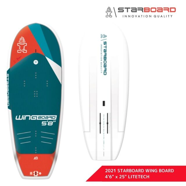 """【STARBOARD スターボード】 2021 SUP WING BOARD LITETECH 4'6"""" x 25"""" ウィングボード ライトテック"""