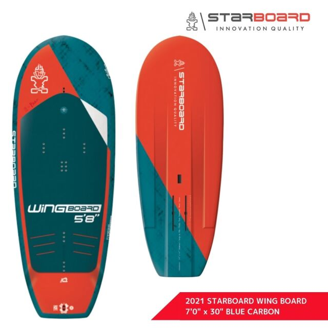 """【STARBOARD スターボード】 2021 SUP WING BOARD BLUECARBON 7'0"""" x 30"""" ウィングボード ブルーカーボン"""