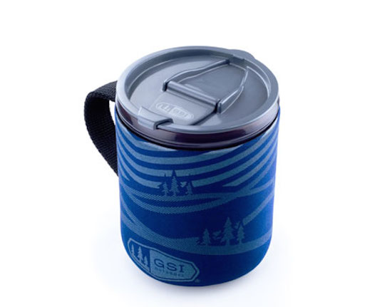 【GSI outdoor ジーエスアイ】Infinity Backpacker Mug Blue Mtn