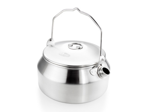 【GSI outdoor ジーエスアイ】Glacier Stainless® Kettle