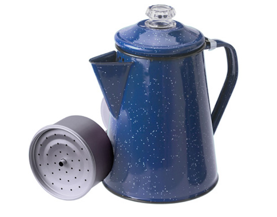 【GSI outdoor ジーエスアイ】Coffee Pot 8 Cup- Blue