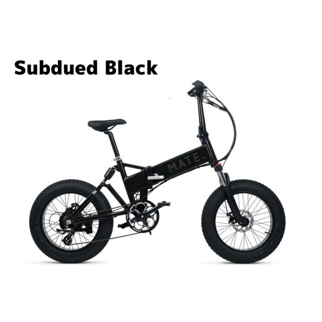 【4月入荷】MATE. BIKE MATE-X 250 Subdued Black