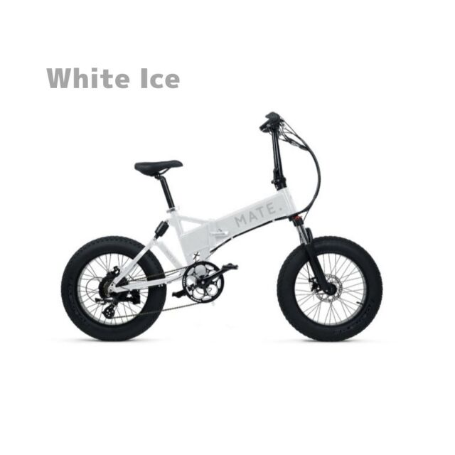 【1月入荷予定】MATE. BIKE MATE-X 250 White Ice