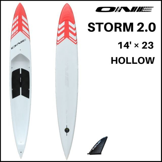 【ONE ワン】 ONE SUP STORM 2.0 23inch HOLLOW