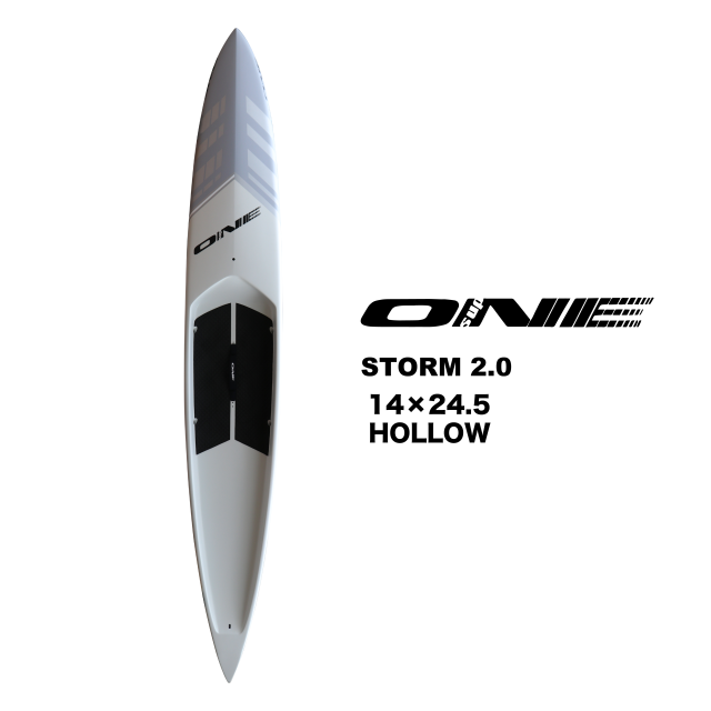 """【ONE】ONE SUP 14'0""""シリーズ STORM 2.0 HOLLOW 24.5inch"""