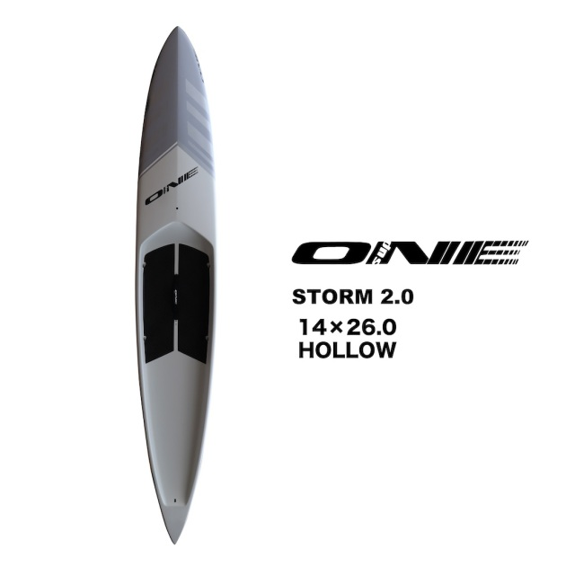 """【ONE】ONE SUP 14'0""""シリーズ STORM 2.0 HOLLOW 26inch"""
