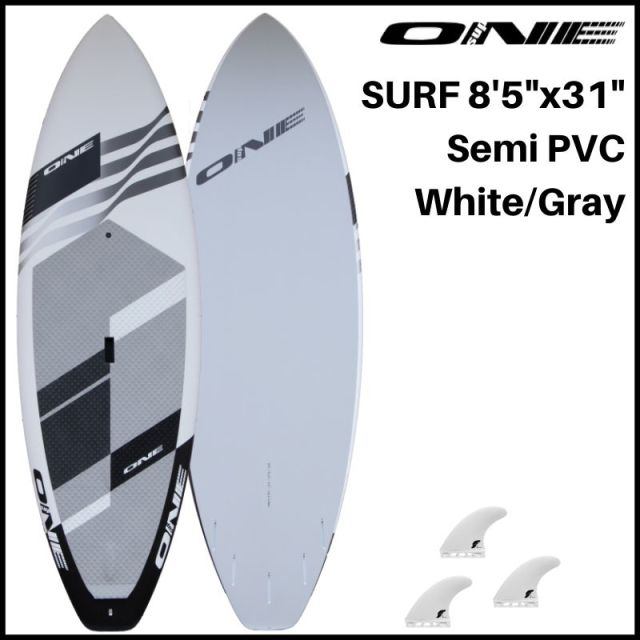 "【ONE ワン】 ONE SUP SURF 8'5"" × 31"" WHITE 118.2L"