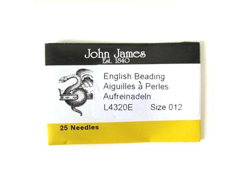 ジョンジェイムス・ビーズ針 長針12号