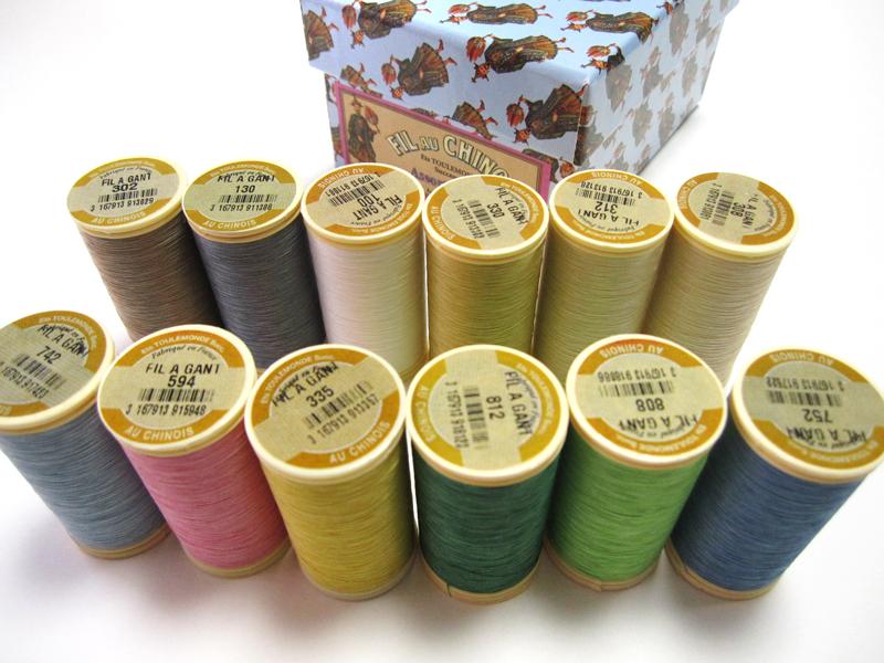 ★オートクチュール刺繍糸フィラガン12色アソートNo.2(パステルトーン) 化粧箱付き