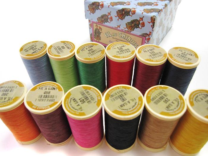 ★オートクチュール刺繍糸フィラガン12色アソートNo.4 化粧箱付き