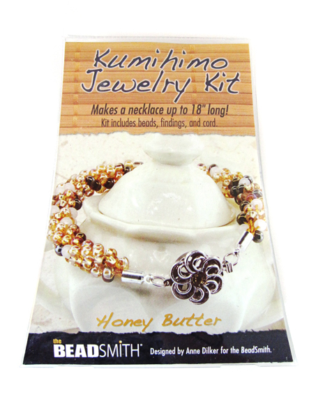 Kumihimo jewelry Kit(Honey Butter)