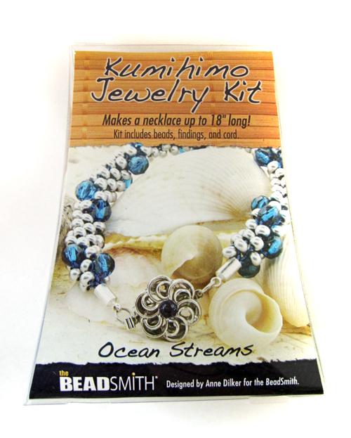 Kumihimo Jewelry Kit (Ocean Streams)