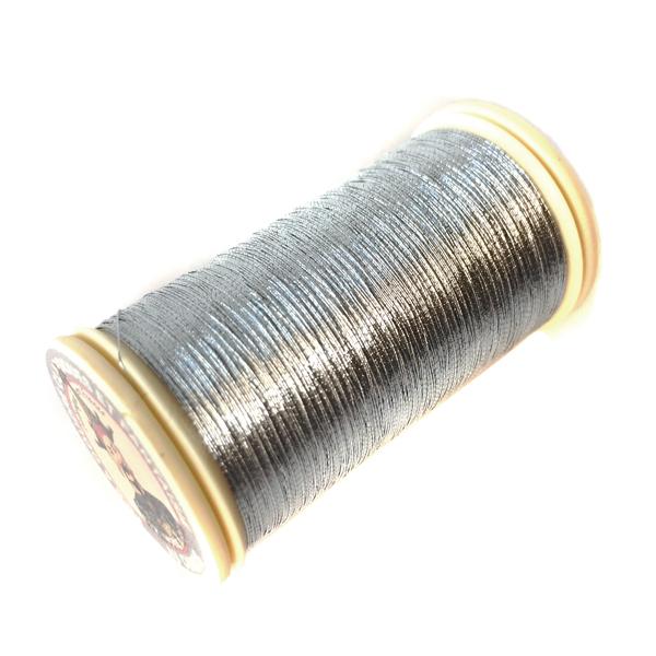 オートクチュール刺繍糸 メタリック(#122)シルバー